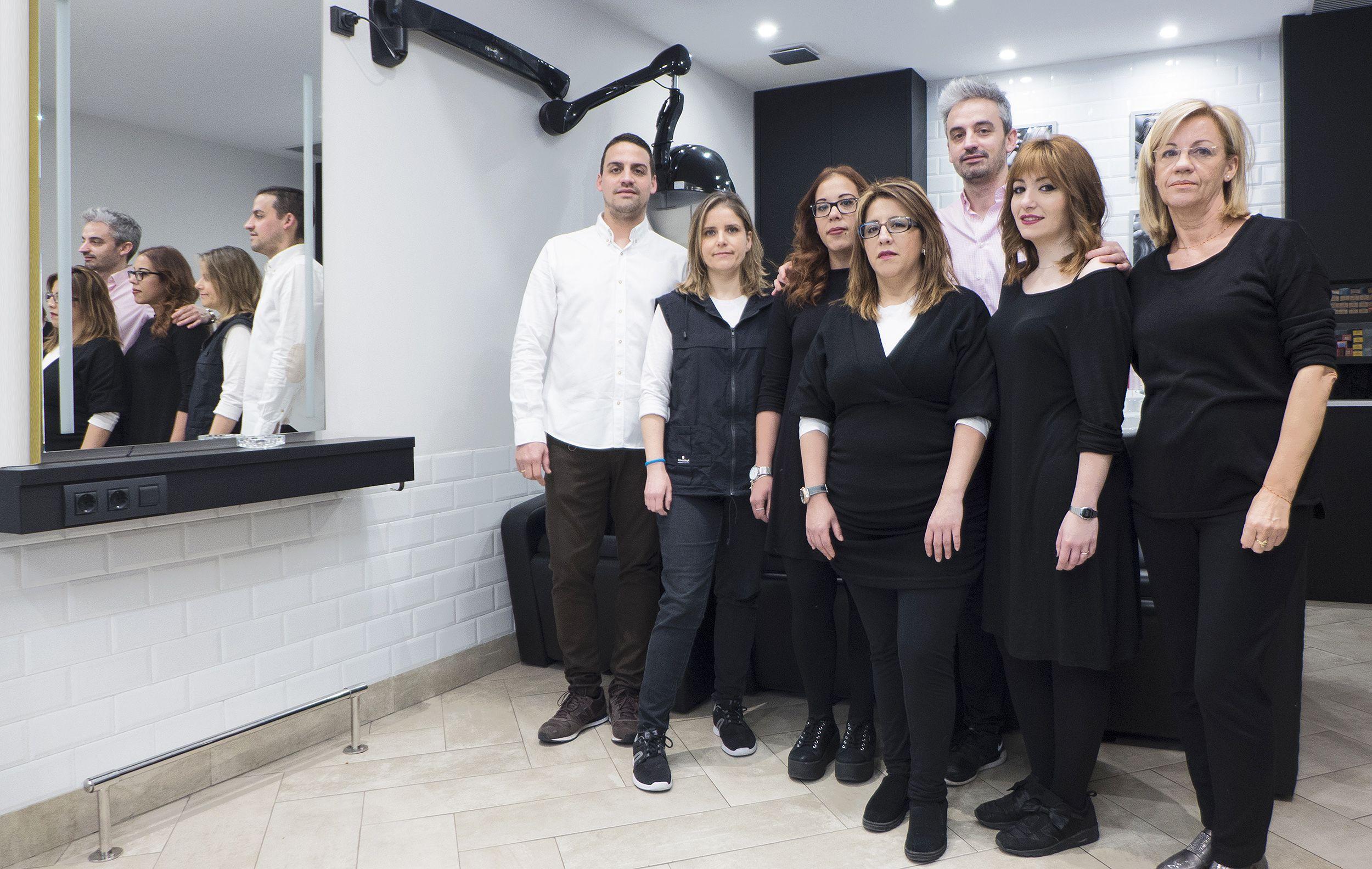 peluquería unisex en sant gervasi barcelona